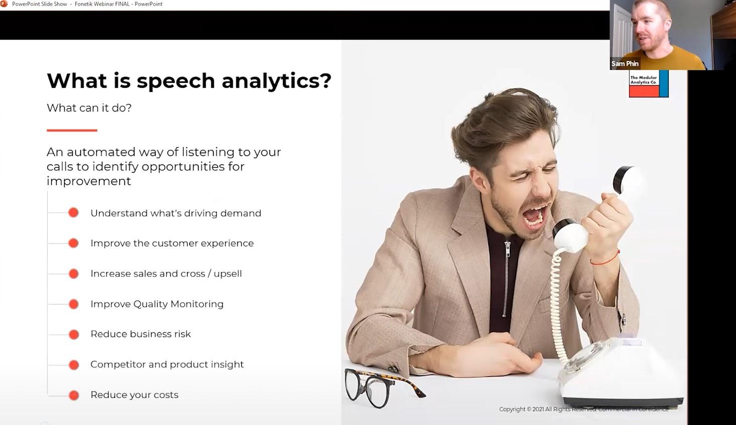 Webinar: How to Avoid Common Challenges with Speech Analytics Plus Fonetik Demo